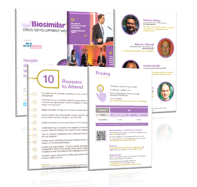 Biosimilar Drug Development brochure