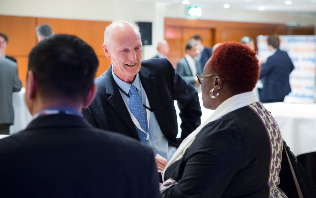 Networking at Connected Britain 2016