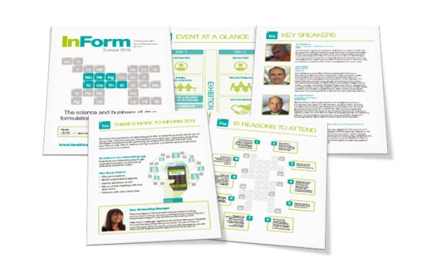 InForm Europe 2015 brochure