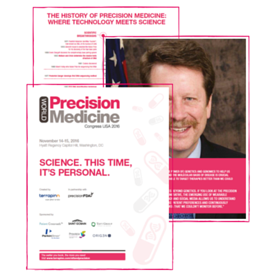 World Precision Medicine Congress USA 2016 brochure