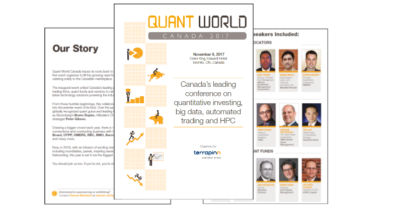 Download the Quant World Canada sponsorship brochure