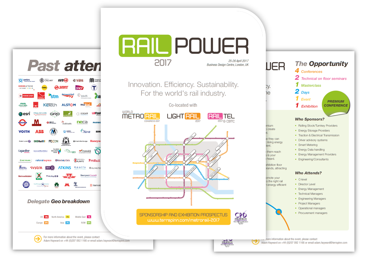 RailPower 2017 Sponsorship Brochure