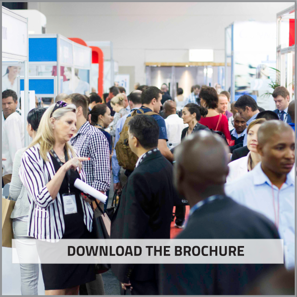 Download the event brochure and showcase your brand to thousands of attendees