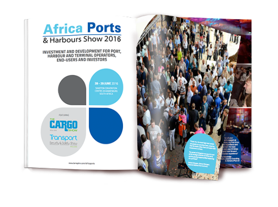The 2016 Ports and Harbours brochure- book your stand today before its too late