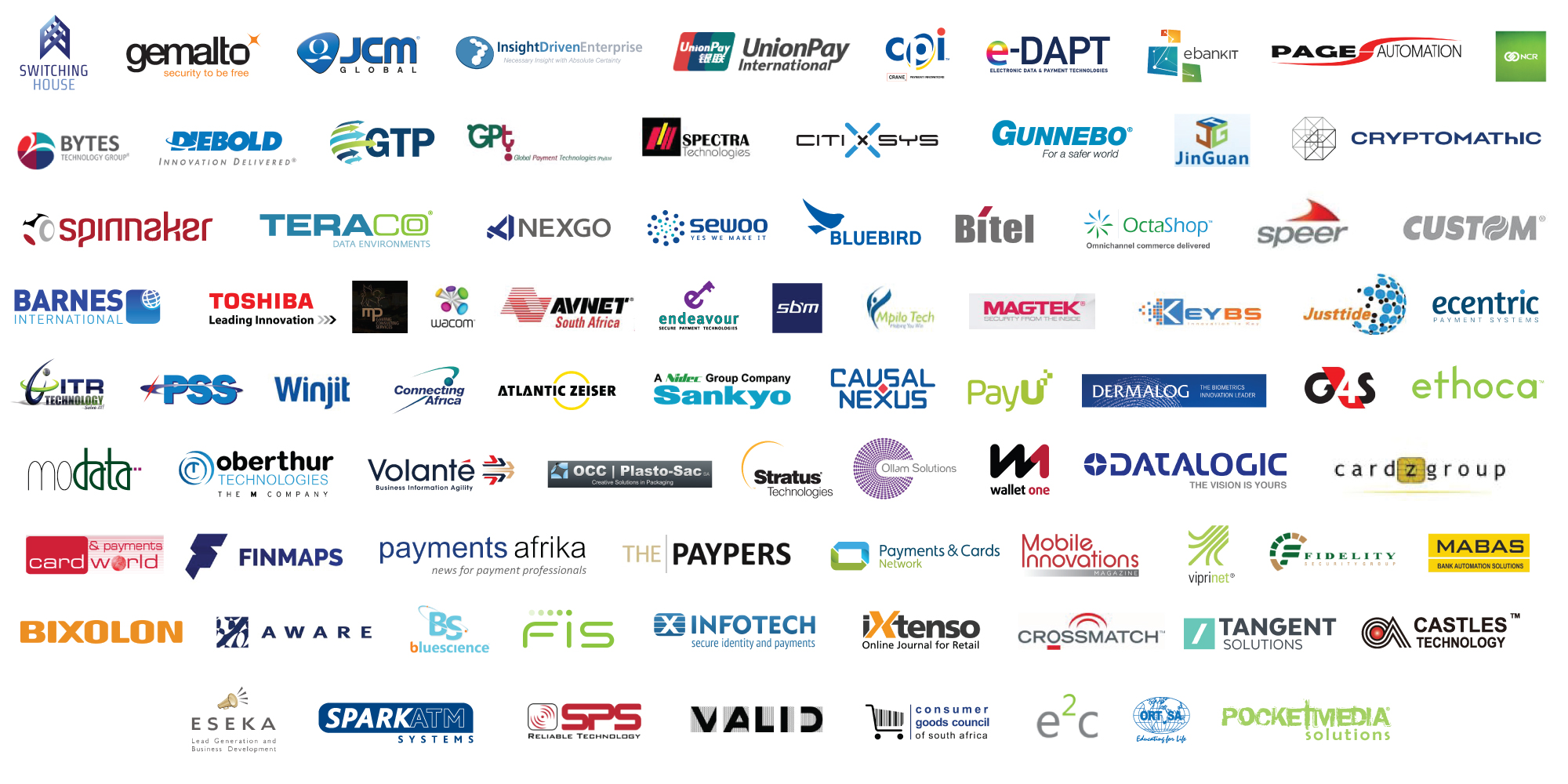Cards & Payments Africa - Sponsors and Exhibitors