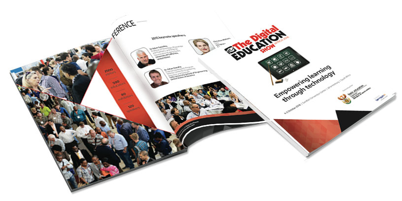 Digital Education Show Africa 2016 partnership brochure