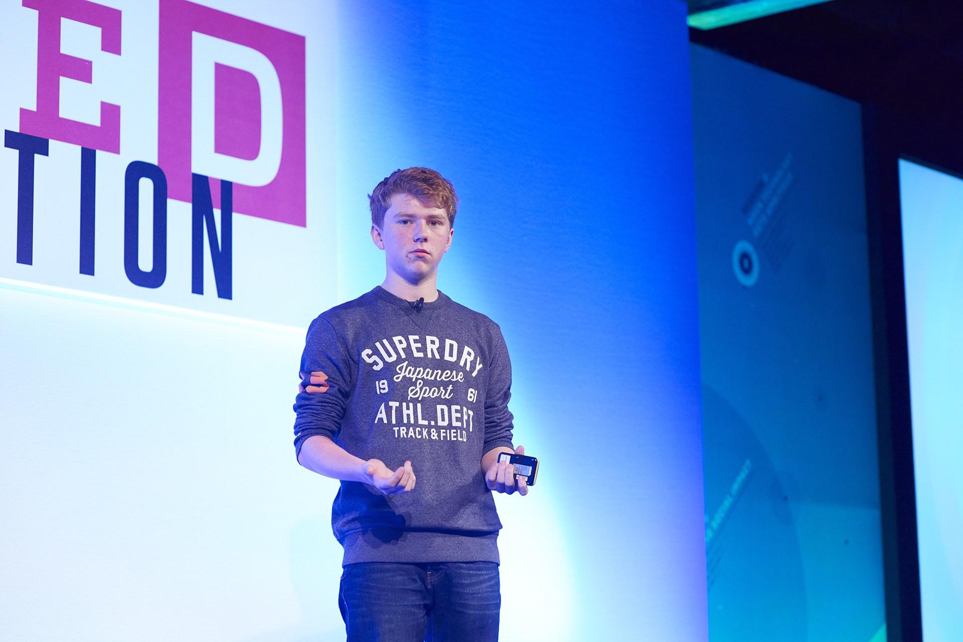 Jordan Casey, CEO, Wrehouse, Ireland