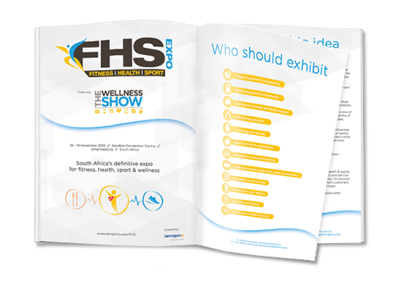 FHS exhibitor brochure- showcase your brand and products to South Africa's fitness enthusiasts