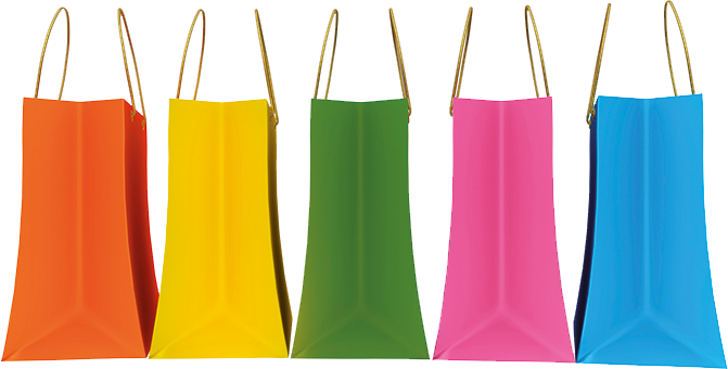 Retail World Africa 2017 - shopping bags
