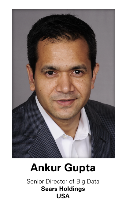 Ankur Gupta, Senior Director of Big Data, Sears Holdings, USA at Retail World Africa 2016
