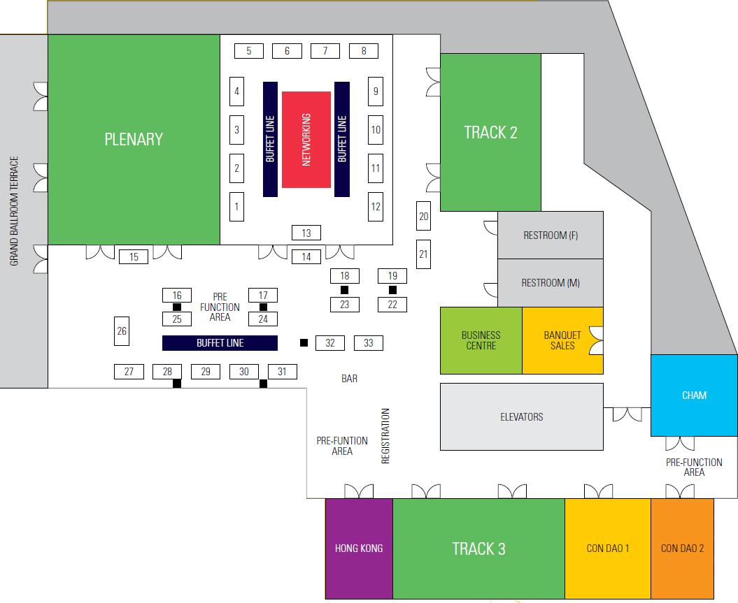 Seamless Vietnam 2017 floor plan