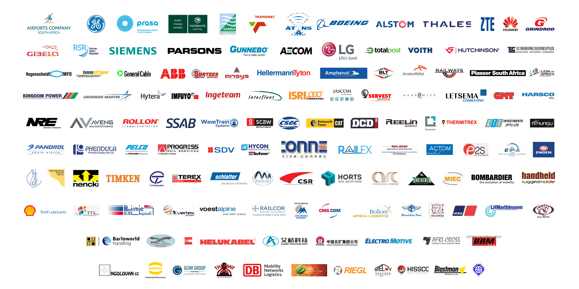 Transport Safety & Security Shwo Africa List of Sponsors and Exhibitors