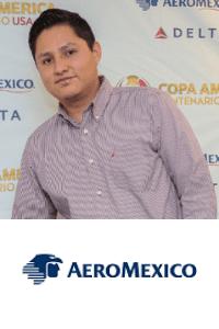 Daniel Reyes Vega speaking at Aviation Festival Americas