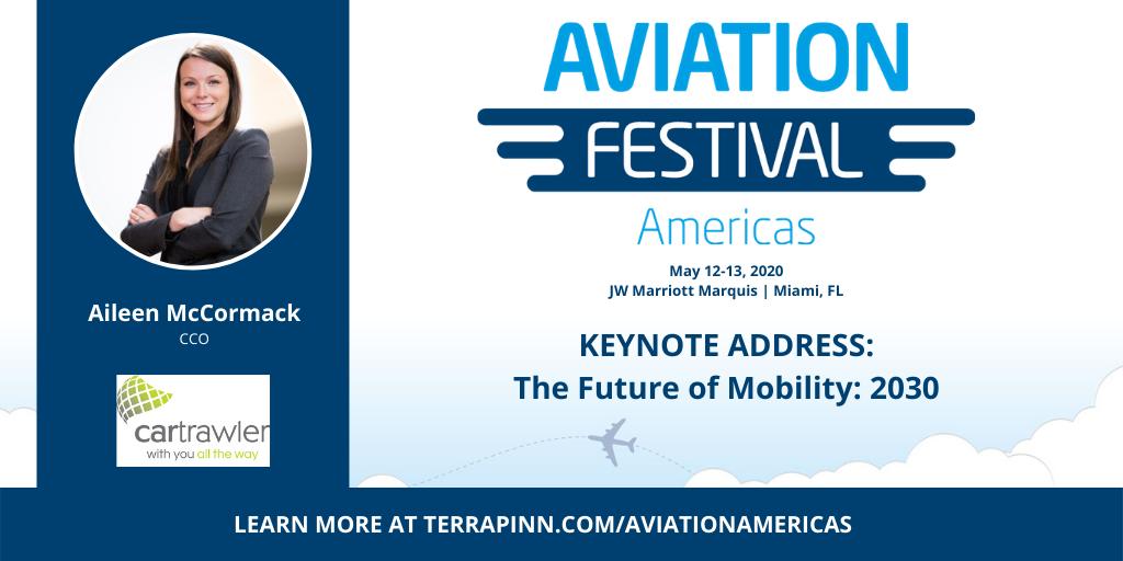 speaker photo at aviation festival americas