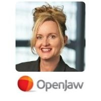 Andrea Cartwright from OpenJaw Technologies speaking at World Aviation Festival