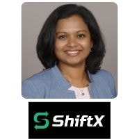 Bhargavi Balusani from ShiftX speaking at World Aviation Festival
