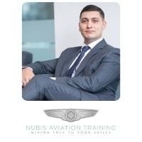 Claudio D Marturano from Nubis Aviation Ltd speaking at World Aviation Festival