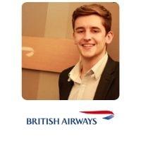 Daniel Murphy from British Airways speaking at World Aviation Festival