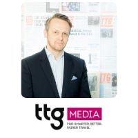 Daniel Pearce from T.T.G. Media Ltd speaking at World Aviation Festival