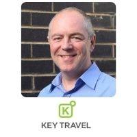 John O'Sullivan from Key Travel speaking at World Aviation Festival