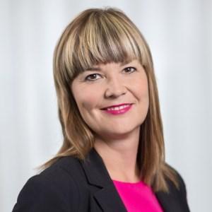 Katja Siberg speaking at Airport T.EX