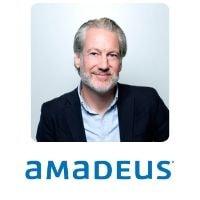 Ludo Verheggen from Amadeus speaking at World Aviation Festival