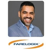 Manish Nagpal from Farelogix speaking at World Aviation Festival