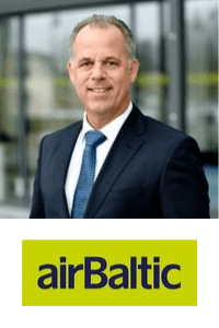 Martin Gauss, CEO of Air Baltic at World Aviation Festival