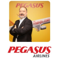 Mehmet Nane, Chief Executive Officer, Pegasus Airlines speaking at World Aviation Festival
