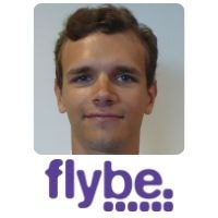 Michal Kuchmacz from Flybe speaking at World Aviation Festival