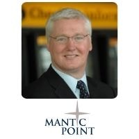 Mike Atherton from Mantic Point Solutions Ltd speaking at World Aviation Festival
