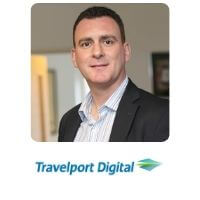 Paul Broughton from Travelport speaking at World Aviation Festival