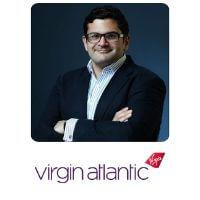 Rami El-Dahshan from Virgin Atlantic speaking at World Aviation Festival