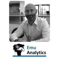 Richard Vilton from Emu Analytics speaking at World Aviation Festival