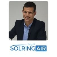 Roni Parshani from Solring Holdings Ltd speaking at World Aviation Festival