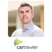 Ross Mcmahon from CarTrawler speaking at World Aviation Festival