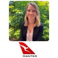 Samantha Gemmell from Qantas Airways Limited speaking at World Aviation Festival