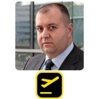Slobodan Vuckovic from AIRDB speaking at World Aviation Festival