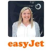 Sophie Dekkers from easyJet speaking at World Aviation Festival