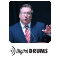 Steve Dunne from Digital Drums Ltd speaking at World Aviation Festival