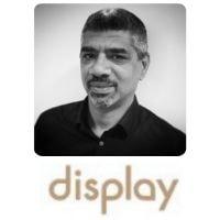 Tarek El Mitwalli from Display Interactive speaking at World Aviation Festival