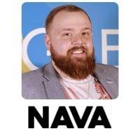Tom Charman from NAVA speaking at World Aviation Festival
