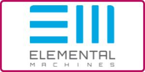 Elemental Machines Logo at BioData West