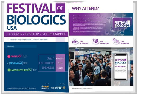 Festival of Biologics USA Agenda