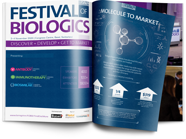 Festival of Biologics 2020 sponsorship brochure