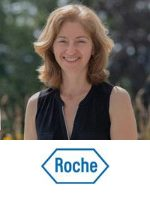 Céline Adessi, Senior Director & Group Head of Oncology and Clinical Safety Science, Roche speaking at Festival of Biologics