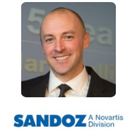 Pierre Bourdage Global Head Of Biopharmaceuticals Strategy And Portfolio Management Sandoz» speaking at Festival of Biologics