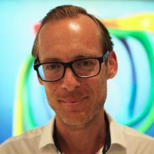 Dominik Hartl speaking at BioData & Genomics Live