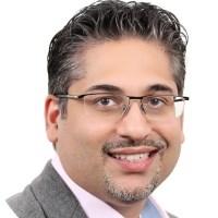 Salman Jaffrey speaking at Middle East investment Summit