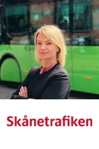 Mariell Hallenhed, Head of Sales & Ticketing, Skanetrafiken